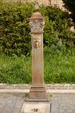 Fontana antica Fotografia Stock Libera da Diritti