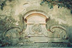 Fontana antica Immagine Stock