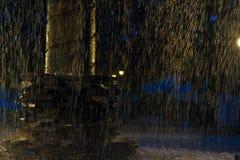 Fontana in Ataco, El Salvador Fotografia Stock Libera da Diritti
