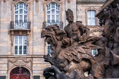 Fontana Bayreuth del Margrave Immagine Stock Libera da Diritti
