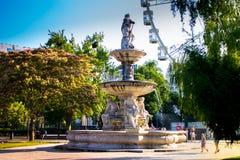 Fontana a Budapest Fotografia Stock