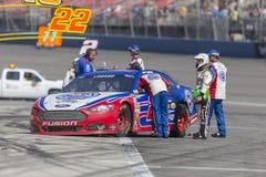 NASCAR 2013: Sprint filiżanki serii Auto klub 400 MAR 24 Obrazy Stock