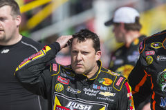 NASCAR 2013 : Sprint tasse série club automobile 400 24 mars Image stock