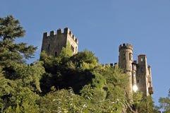 Fontana Castle - Brunnenburg Royalty Free Stock Images
