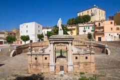 Fontana Cavallina Genzano di Lucania L'Italia Immagine Stock