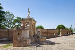 Fontana Cavallina Genzano di Lucania L'Italia Immagini Stock