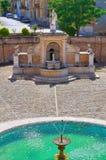 Fontana Cavallina Genzano di Lucania L'Italia Immagine Stock Libera da Diritti