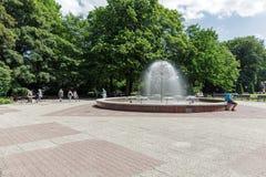 Fontana che è chiamata Dandelion immagini stock libere da diritti
