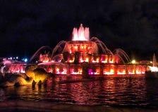 Fontana Chicago di Buckingham Fotografia Stock