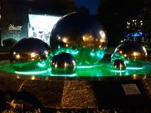 Fontana d'ardore come opera d'arte Immagine Stock