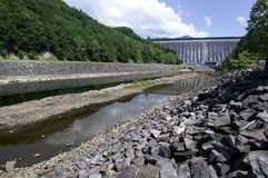 Fontana Dam Royalty Free Stock Images