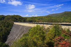 Fontana Dam Stock Photography