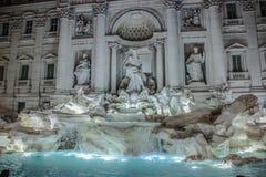 Fontana DE Trevi - Rome - Italië Royalty-vrije Stock Foto's