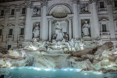 Fontana de Trevi - Rome - l'Italie Photos libres de droits