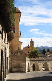 Fontana de Vecchio and aqueduct, Sulmona, Italy Stock Photography
