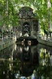 Fontana dei giardini del Lussemburgo Immagine Stock