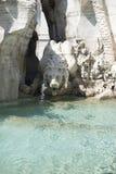 Fontana dei Quattro Fiumi Stock Photos