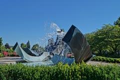 Fontana del capitale dello Stato dell'Oregon immagine stock libera da diritti