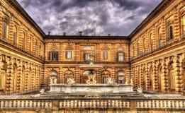 Fontana del Carciofo i Florence Royaltyfri Bild