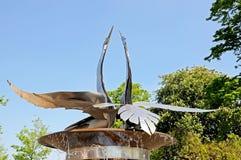 Fontana del cigno, Stratford-sopra-Avon Immagine Stock