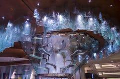 Fontana del cioccolato di Bellagio immagine stock