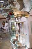 Fontana del cioccolato di Bellagio fotografia stock