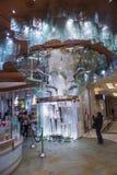 Fontana del cioccolato di Bellagio immagini stock libere da diritti