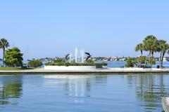 Fontana del delfino immagini stock libere da diritti