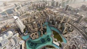 Fontana del Dubai Immagini Stock