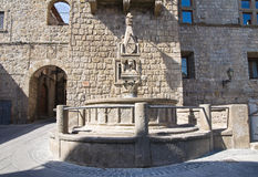 Fontana del Fuso. Vitorchiano. Lazio. Italy. Royalty Free Stock Photography