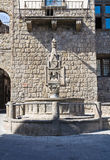 Fontana del Fuso. Vitorchiano. Lazio. Italy. Royalty Free Stock Photos