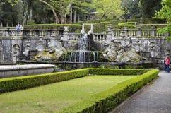 Fontana del Giants, villa Lante Fotografie Stock Libere da Diritti