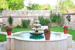 Fontana del giardino Immagini Stock Libere da Diritti