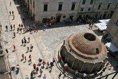 Fontana del grande Onofrio, Dubrovnik Fotografie Stock Libere da Diritti