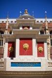 Fontana del Hampton Court in iarda del palazzo Fotografie Stock