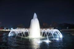 Fontana del memoriale di WWII Fotografia Stock