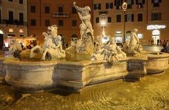 Fontana del Moro imagem de stock royalty free