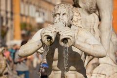 Fontana del Moro Stock Afbeeldingen