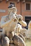 Fontana del Moro Royalty-vrije Stock Foto
