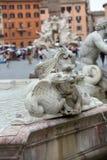 Fontana Del Moro stockfotografie