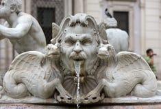 Fontana Del Moro lizenzfreies stockfoto