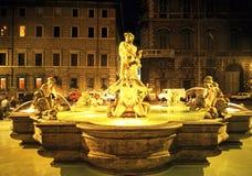 Fontana del Moro, Rome royalty-vrije stock afbeeldingen