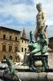Fontana del Nettuno Stock Photos