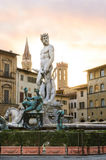 Fontana del Nettuno, Firenze Stock Images