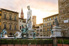 Fontana del Nettuno, Firenze Royalty Free Stock Photo