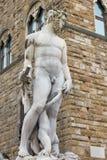 Fontana del Nettuno, Florence. Italy royalty free stock photos