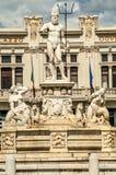 Fontana del Nettuno. In Messina royalty free stock photography