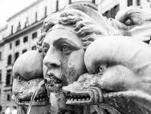 Fontana del panteon Immagine Stock Libera da Diritti