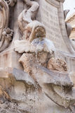 Fontana del Pantheon Royalty Free Stock Photo