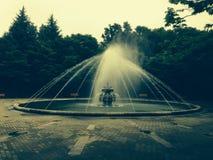 Fontana del parco Immagini Stock Libere da Diritti